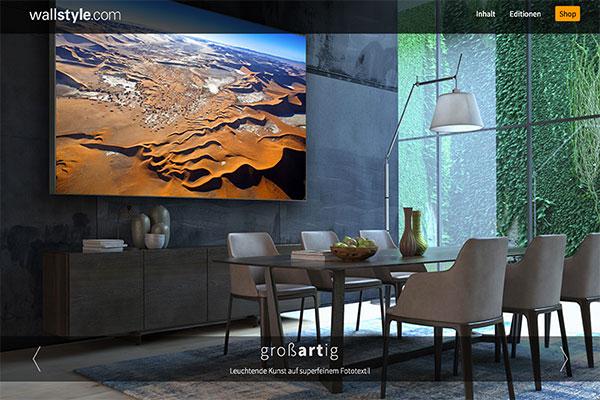Wallstyle Webseite Und Shop