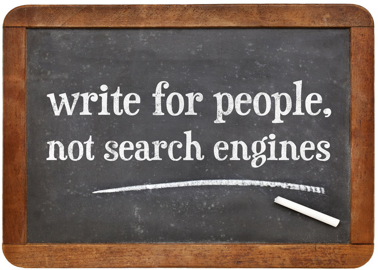 CCDS Leistungen - SEO - write for people, not search engines