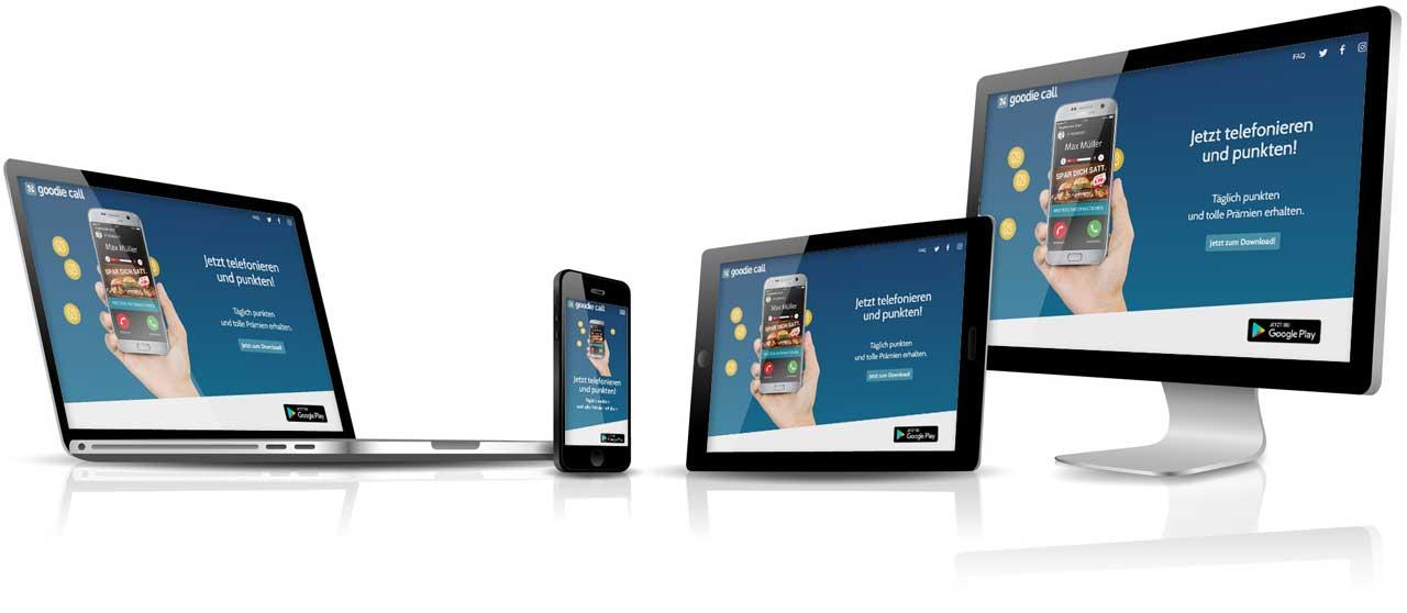CCDS Leistungen - Responsive Webdesign