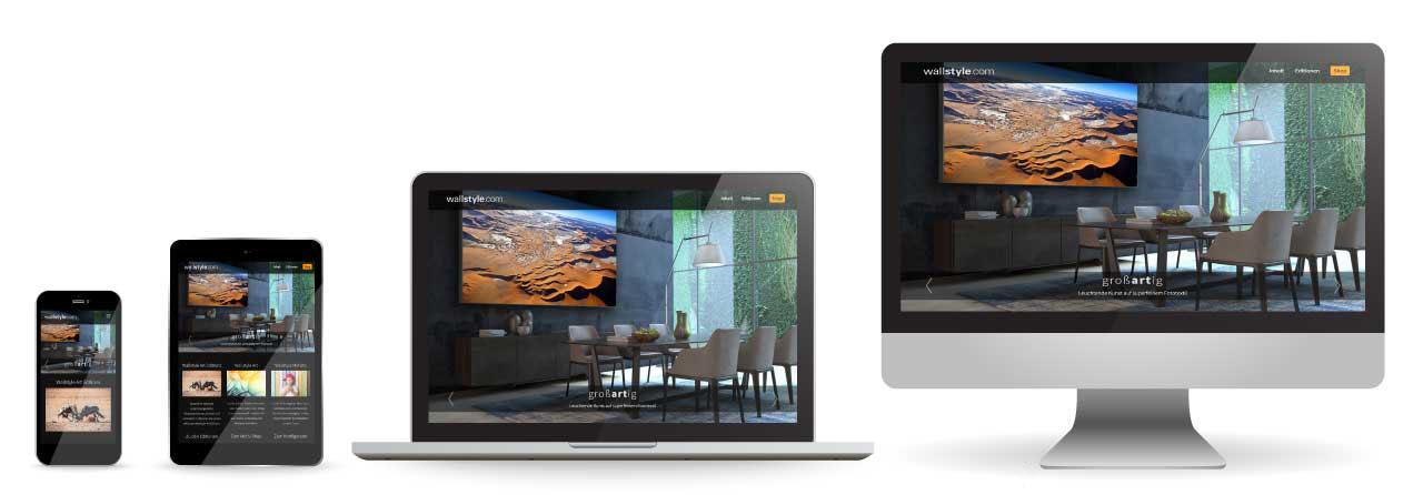 CCDS Leistungen - Webseiten - Responsives Design