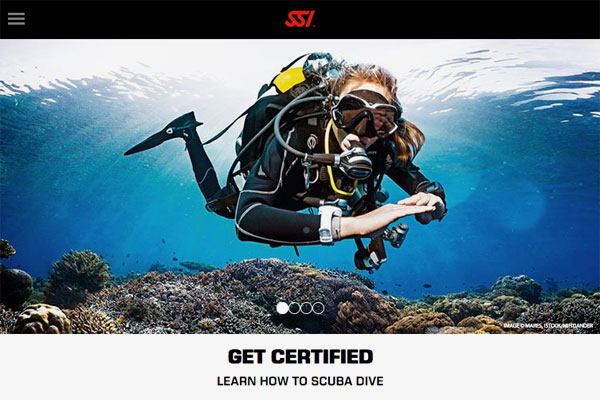 Dive SSI Website Und Blog