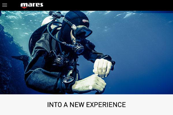 Mares Webseite Und Online-Shop